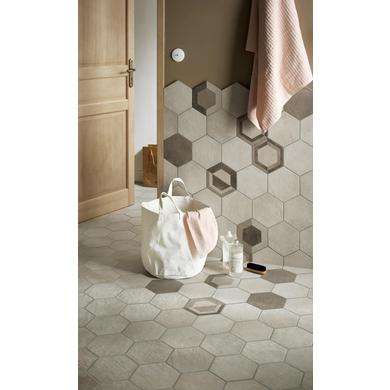 Carrelage Murs Et Sols GOAL Hexagonal X Cm Sols Et Murs - Carrelage hexagonal