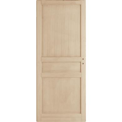 Porte coulissante Chêne plaqué Classique