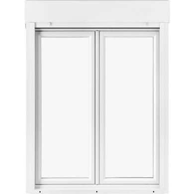 Fenêtre Oscillo Battante Pria Pvc Avec Volet Roulant Intégré