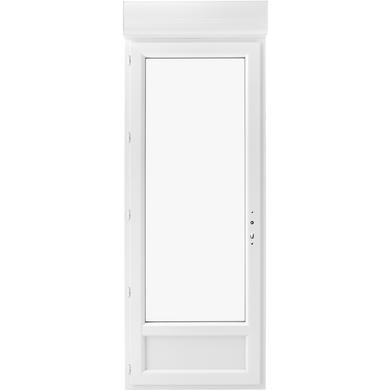 Porte Fenêtre Pria Pvc 1 Vantail Avec Volet Roulant Intégré à Clé