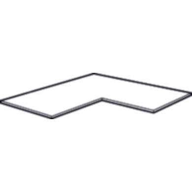 Tablette Mobile Pour Caisson Angle 90 Dressing Espace Rangements