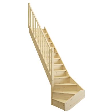escalier uno escaliers lapeyre. Black Bedroom Furniture Sets. Home Design Ideas
