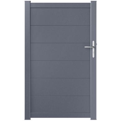 portillon aluminium genova ext rieur. Black Bedroom Furniture Sets. Home Design Ideas