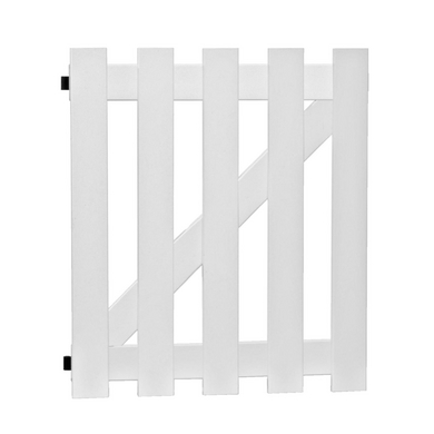 Portillon pvc solano ext rieur for Portillon exterieur
