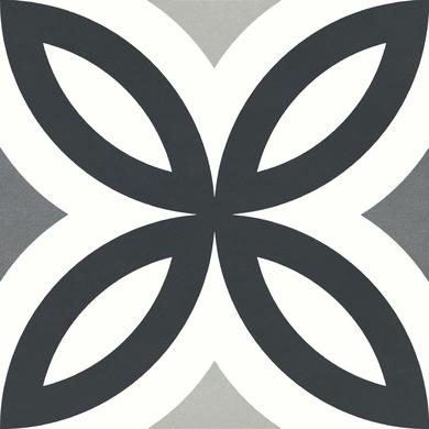 Carrelage Decor Helios Quart Rosace 20 3 X 20 3 Cm Carrelage Lapeyre