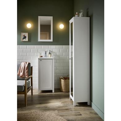 Colonne de salle de bains avec miroir s te salle de bains lapeyre - Colonne salle de bain lapeyre ...