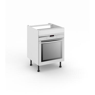 Meuble de cuisine pour four avec 1 faux tiroir haut cuisine - Meuble pour four encastrable en hauteur ...