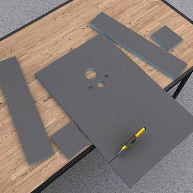 panneaux carreler i board salle de bains. Black Bedroom Furniture Sets. Home Design Ideas