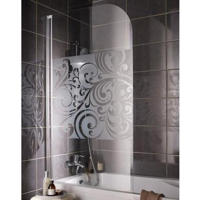 Ecran de baignoire floral salle de bains for Ecran de baignoire