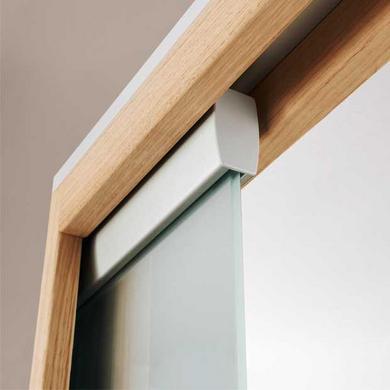 kit pour porte en verre pour syst me prestige uno portes. Black Bedroom Furniture Sets. Home Design Ideas