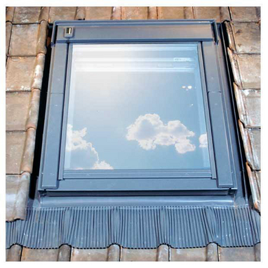 Raccord Velux EW Pose en rénovation sur tuiles - Fenêtres