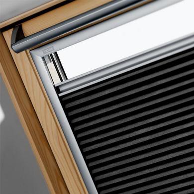 Store plissé occultant et isolant Velux FHC gris - Fenêtres