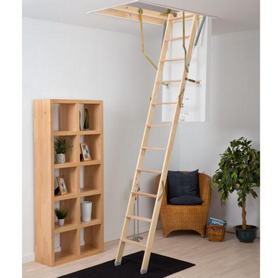 escamotable pliant confort click bois escaliers. Black Bedroom Furniture Sets. Home Design Ideas