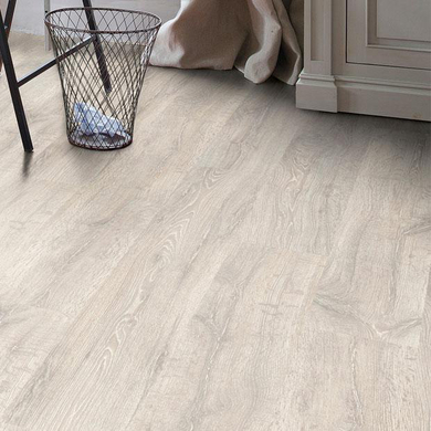 Stratifié Classic Plus Chêne Vieilli Patiné Blanc - Sols & Murs