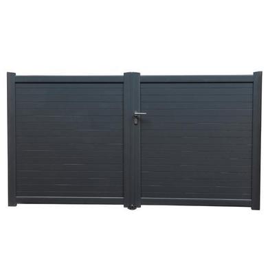 portail battant aluminium toscane ext rieur. Black Bedroom Furniture Sets. Home Design Ideas