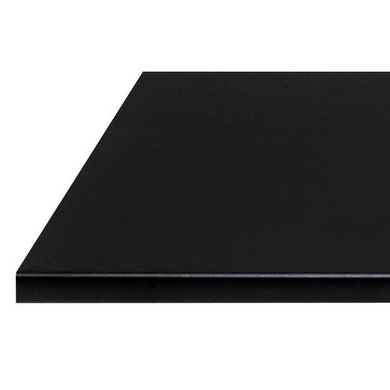 plan de travail noir absolu stratifi 38 et 60 mm cuisine. Black Bedroom Furniture Sets. Home Design Ideas