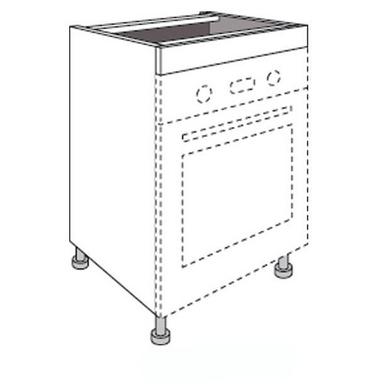 Meuble de cuisine pour fours avec 1 faux tiroir haut urban for Meuble haut avec tiroir