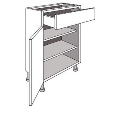 meuble de cuisine bas cm 1 porte 1 tiroir urban cuisine. Black Bedroom Furniture Sets. Home Design Ideas