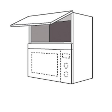 meuble de cuisine haut pour micro ondes urban cuisine. Black Bedroom Furniture Sets. Home Design Ideas