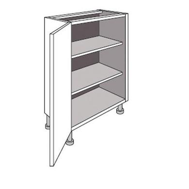 Meuble de cuisine bas faible profondeur 1 porte lumio for Meuble profondeur 25 cm