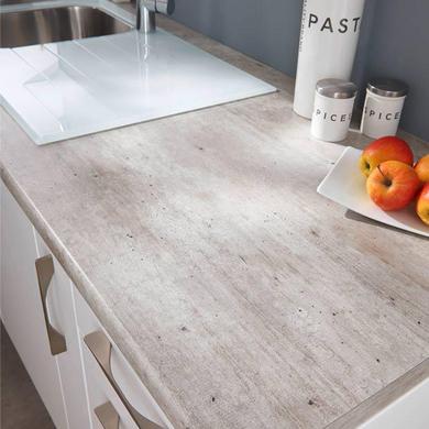 plan de travail lune cendr e stratifi 38 mm cuisine. Black Bedroom Furniture Sets. Home Design Ideas