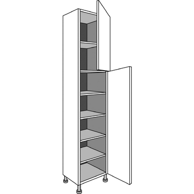 Colonne de cuisine de rangement faible profondeur cuisine for Bureau faible largeur