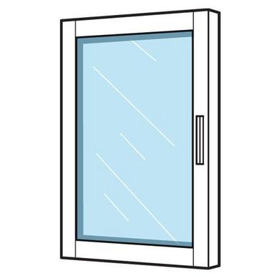 Porte vitr e cm pour dressing espace pi ces - Porte vitree lapeyre ...