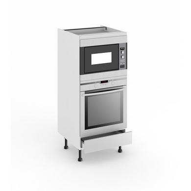 Demi colonne de cuisine four et niche de cm origine - Colonne de cuisine pour four encastrable ...