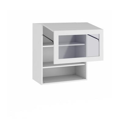 meuble de cuisine haut 2 portes pliantes 1 pleine1 vitre cuisine