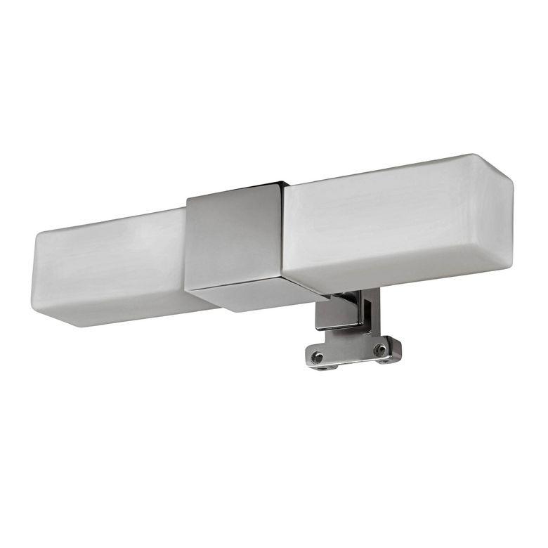 Spot pour miroir de salle de bains duo carr salle de bains for Miroir loupe pour salle de bain