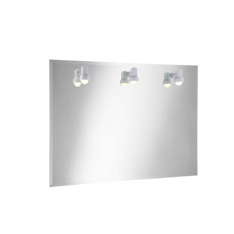 Miroir lumineux ibiza salle de bains for Miroir lumineux salle de bain lapeyre