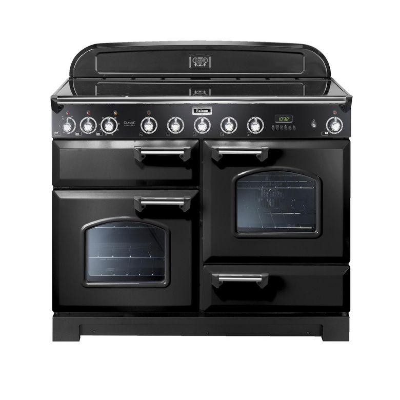 piano de cuisson classic deluxe falcon 110 cm poign es et boutons cuivre cuisine. Black Bedroom Furniture Sets. Home Design Ideas