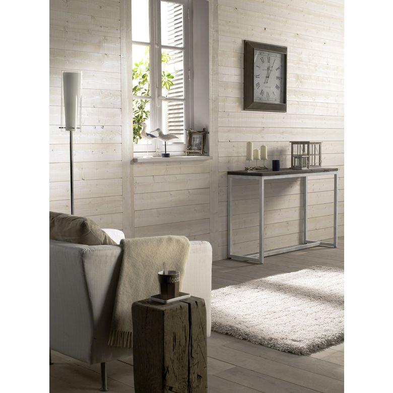 Lambris anglet sapin blanc brut de sciage sols murs - Lambris brut de sciage ...