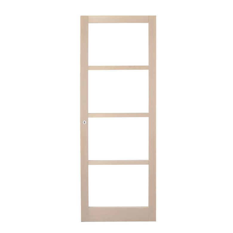 Porte coulissante galaxie en bois portes for Porte interieur 63 cm