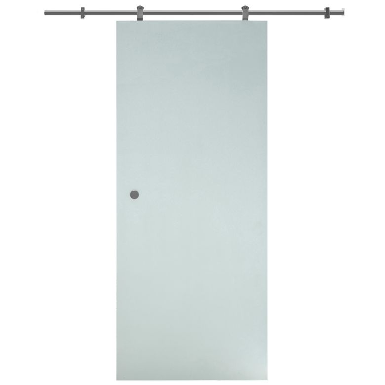 Porte en verre sable portes for Porte interieur 63 cm