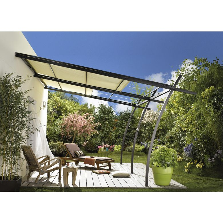 rideau pour pergola exterieur stunning pergolas with. Black Bedroom Furniture Sets. Home Design Ideas