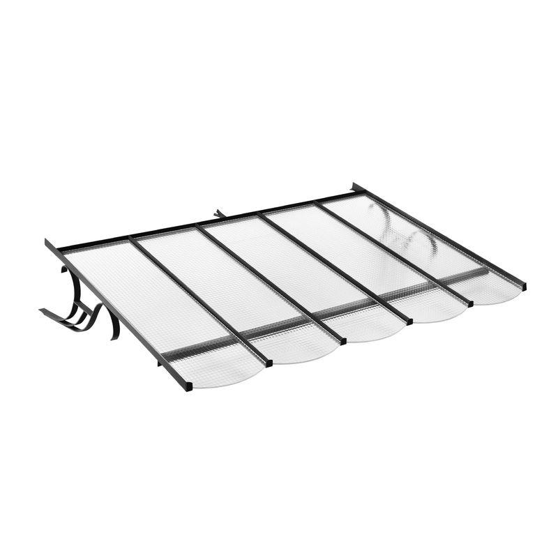 auvent fer forg interesting auvent terrasse fer forge. Black Bedroom Furniture Sets. Home Design Ideas
