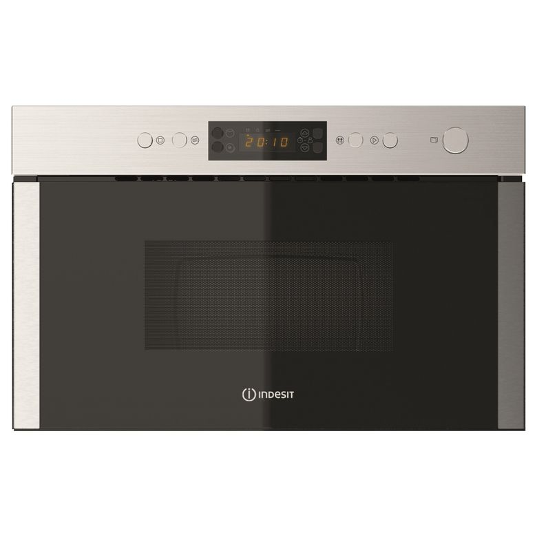 Four micro-ondes gril encastrable H.36 cm 22L INDESIT - Cuisines - Lapeyre