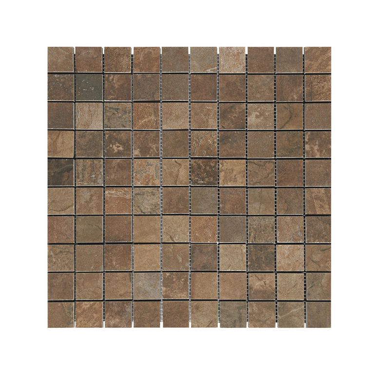 Carrelage mosa que amazone 33 x 33 cm sols murs for Carrelage rouille