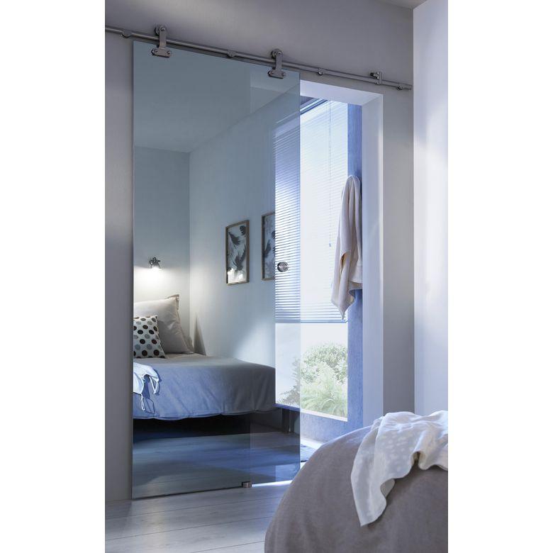 porte coulissante en verre mirage portes. Black Bedroom Furniture Sets. Home Design Ideas
