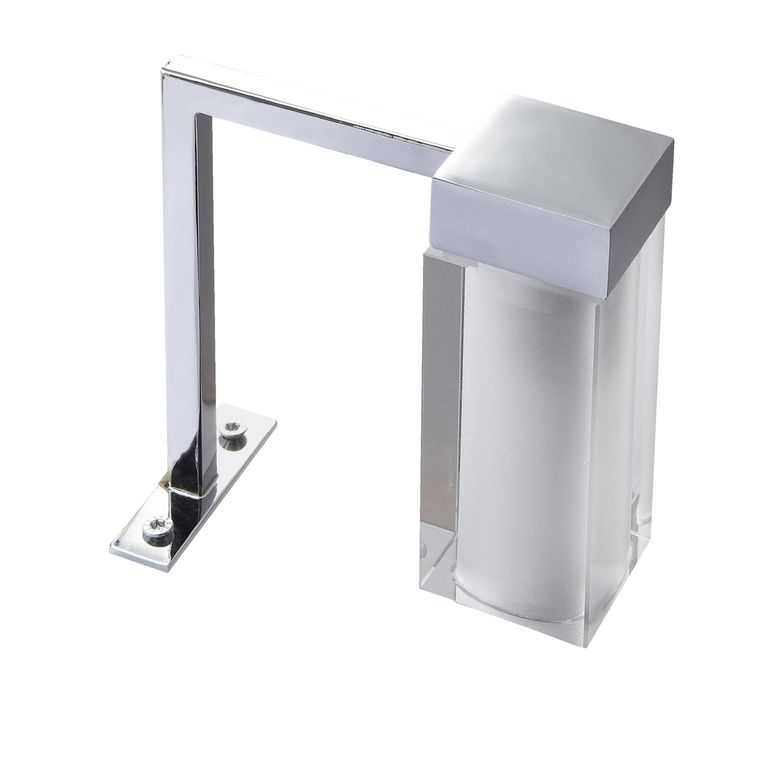 Spot pour miroir de salle de bains diamant salle de bains for Miroir salle de bain lapeyre