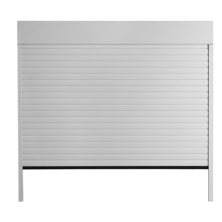 Porte de garage chicago enroulable motoris e ext rieur - Porte de garage motorisee somfy ...