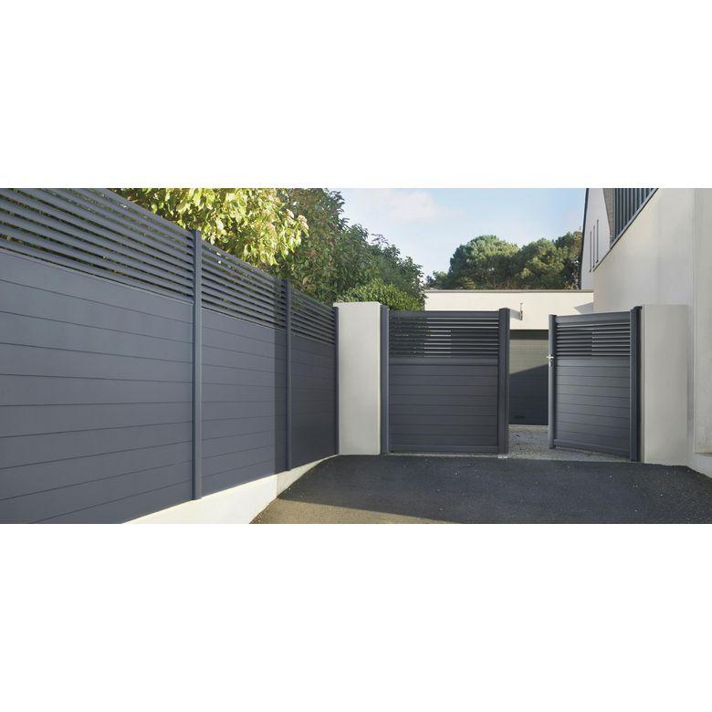 pack poteaux en aluminium pour cl ture dolomite sicile ext rieur. Black Bedroom Furniture Sets. Home Design Ideas