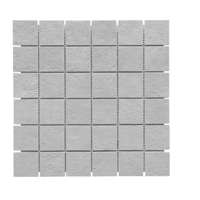 Carrelage mosa que unik 5 x 5 trame 30 x 30 cm sols murs Lapeyre carrelage mosaique