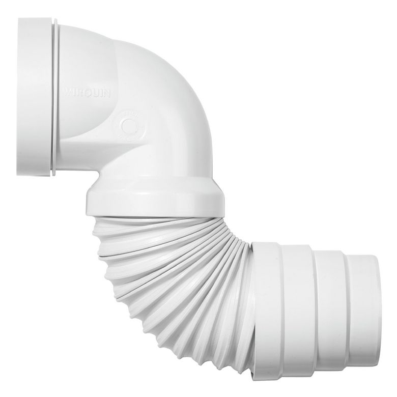 Raccordement pipe wc magic salle de bains - Evacuation wc horizontale ...