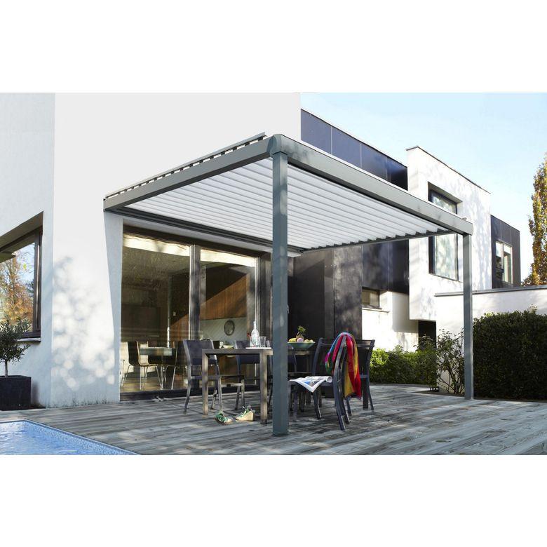 Les stores bannes et les toits de terrasse