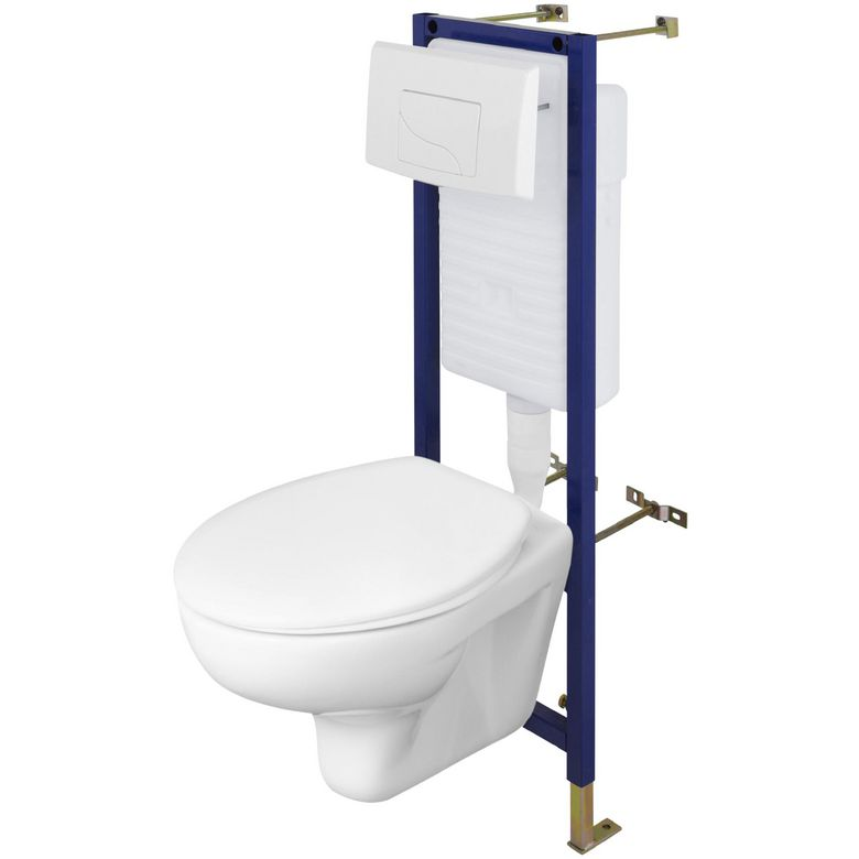 Hauteur wc suspendu handicap awesome pack wc suspendu - Hauteur toilette suspendu ...