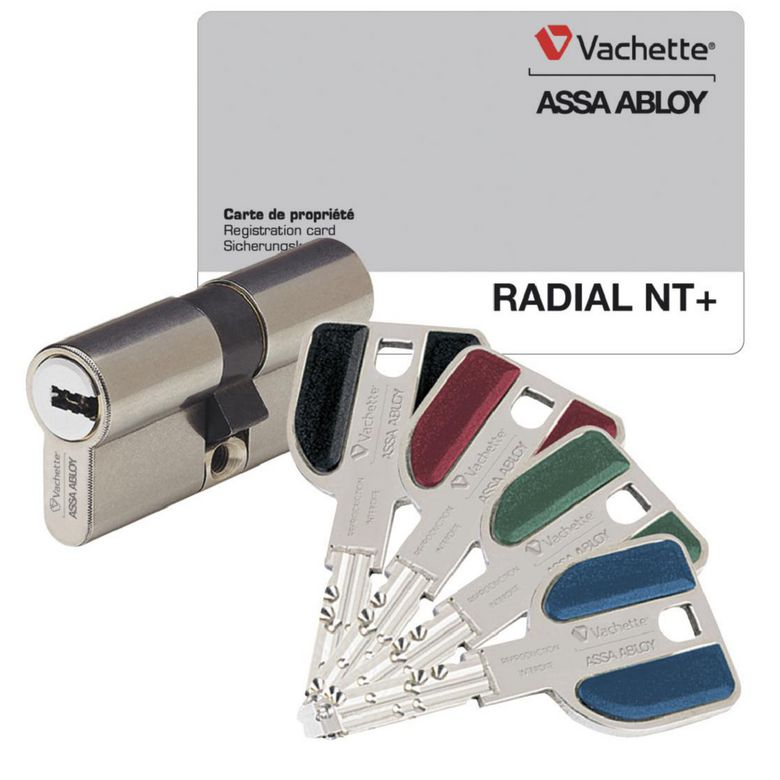Barillet Radial NT Vachette 32.5 x 32.5 mm - Portes