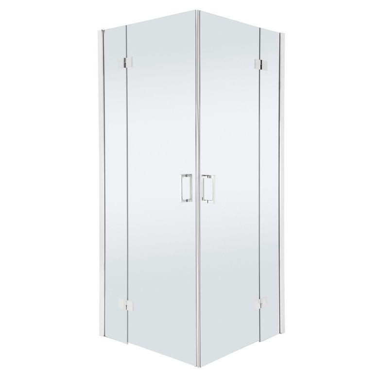 acc s d 39 angle par portes pivotantes carr es palace salle de bains. Black Bedroom Furniture Sets. Home Design Ideas