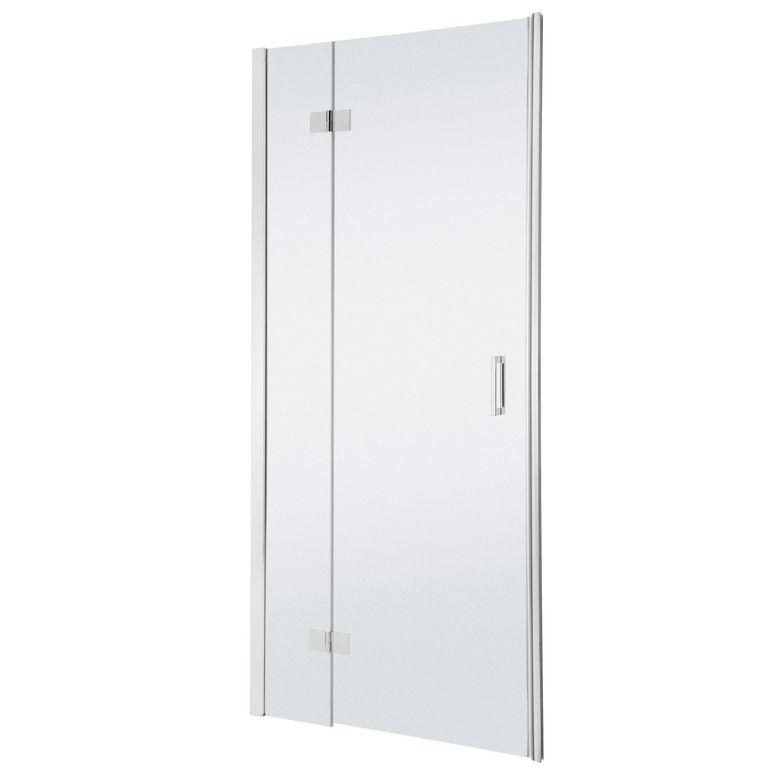 Acc s de face par porte pivotante palace avec partie fixe - Porte de douche avec paroi fixe ...